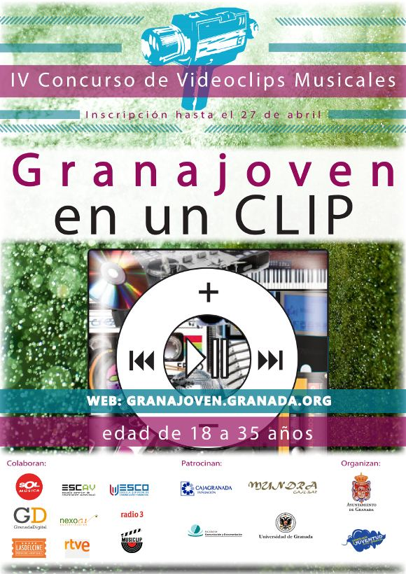 IV CONCURSO DE VIDEO CLIPS MUSICALES <GRANAJOVEN EN UN CLIP>