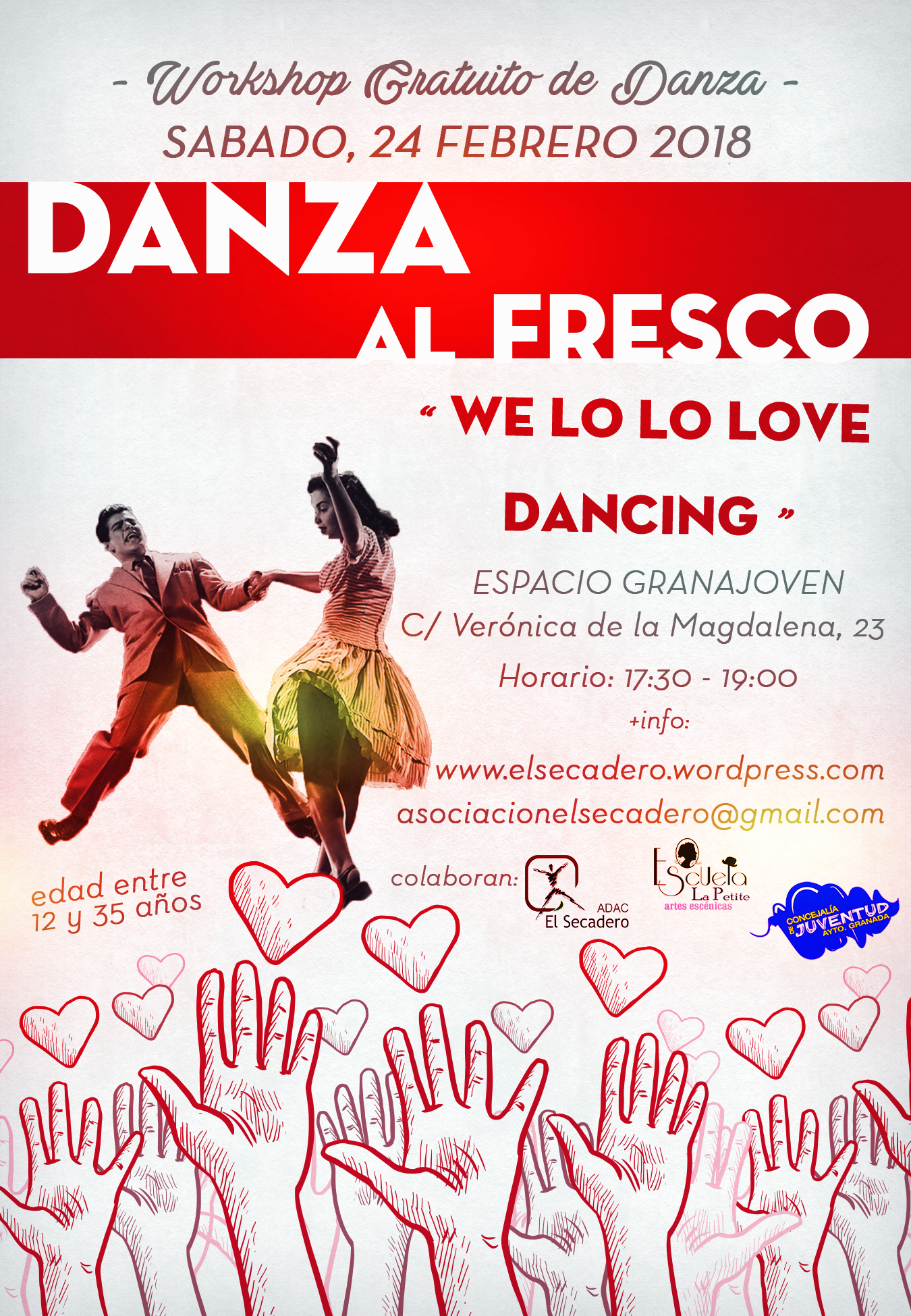 WORKSHOP gratuito de Danza