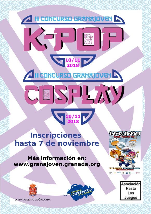 Ayto Granada Ii Concurso Granajoven K Pop Y Cosplay
