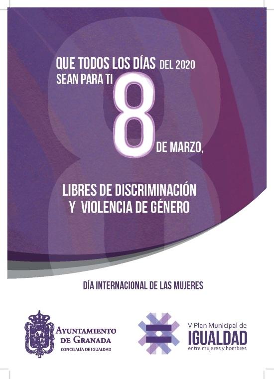 ©Ayto.Granada: Día Internacional de la Mujer
